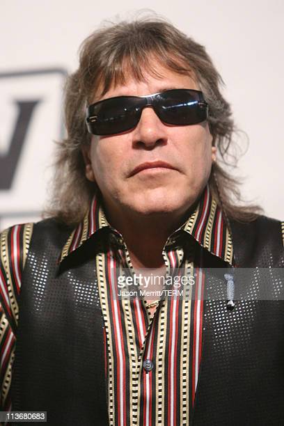 Jose Feliciano performer during 2006 TV Land Awards Press Room at Barker Hangar in Santa Monica California United States