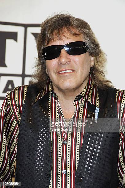 Jose Feliciano performer during 4th Annual TV Land Awards Press Room at Barker Hangar in Santa Monica California United States