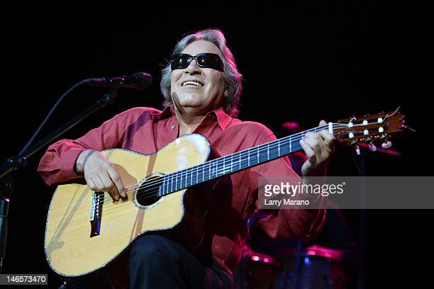 Jose Feliciano performs at Hard Rock Live in the Seminole Hard Rock Hotel Casino on June 19 2012 in Hollywood Florida