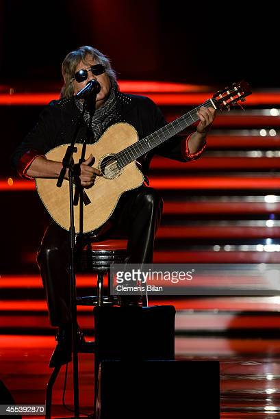 Jose Feliciano performs at the 'Willkommen bei Carmen Nebel' show at Velodrom on September 13 2014 in Berlin Germany