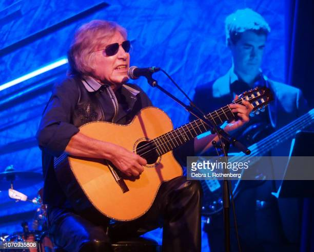 Jose Feliciano performs during his Holiday Feliz Navidad Show at Sony Hall on December 9 2018 in New York City
