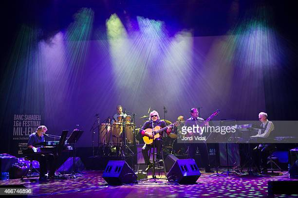 Jose Feliciano performs on stage during Festival del Millenni at L'Auditori on March 18 2015 in Barcelona Spain