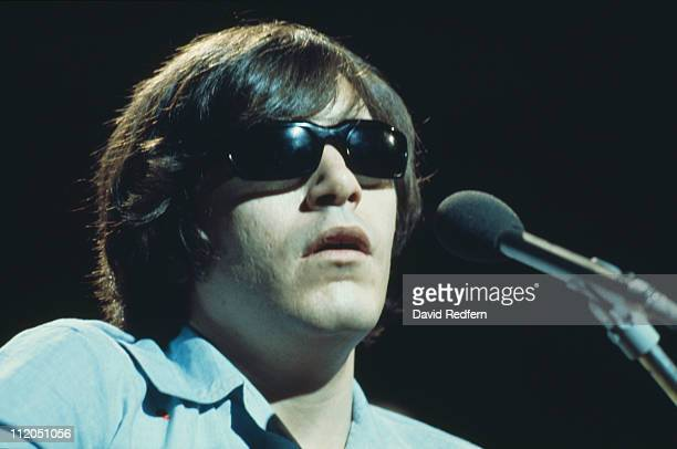 Jose Feliciano Puerto Rican singer and guitarist performing live in concert circa 1970