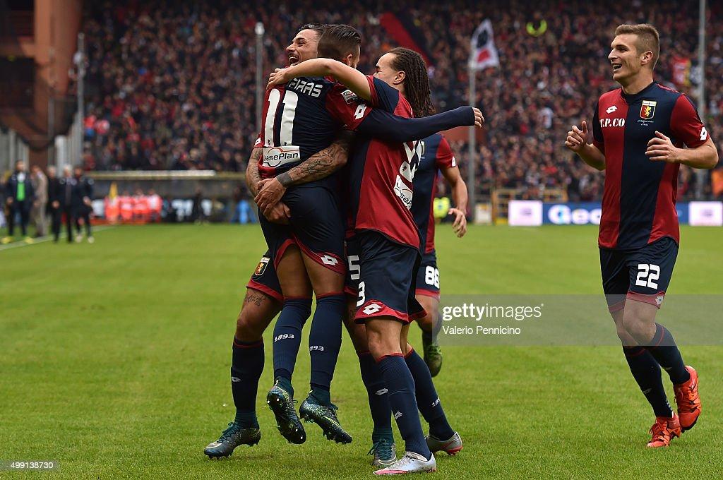 Genoa CFC v Carpi FC - Serie A : ニュース写真