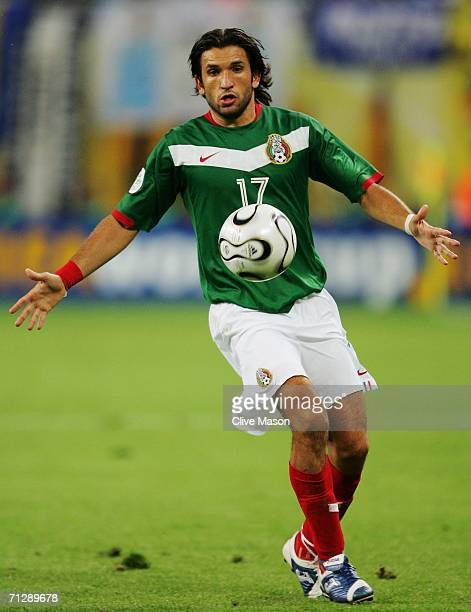 Jose Fonseca of Mexico in action during the FIFA World Cup Germany 2006 Round of 16 match between Argentina and Mexico played at the Zentralstadion...