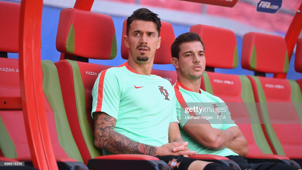 Portugal Training and Press Conference - FIFA Confederations Cup Russia 2017 : News Photo