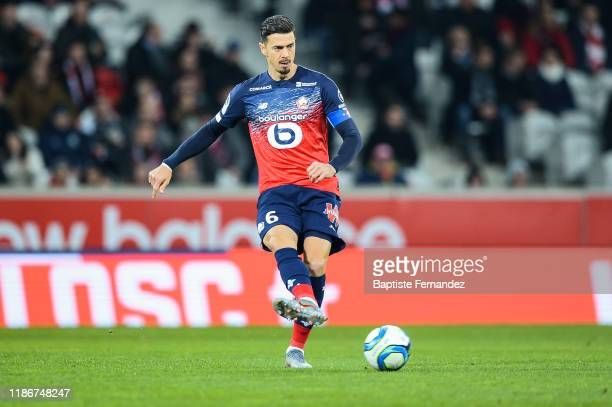Jose FONTE of Lille during the French Ligue 1 Football match between Lille and Brest at Stade Pierre Mauroy on December 6, 2019 in Lille, France.