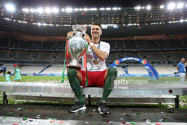 Jose Fonte of Portugal during the UEFA EURO 2016 final match between Portugal and France on July 10 2016 at the Stade de France in Paris France