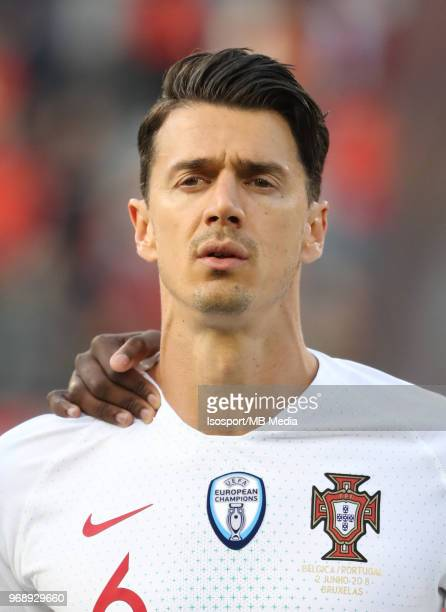 Jose FONTE pictured during a friendly game between Belgium and Portugal as part of preparations for the 2018 FIFA World Cup in Russia on June 2 2018...