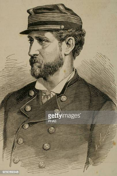 Jose Francisco Vergara Echevers . Chilean politician, founder of Vina del Mar. Engraving in The Spanish and American Illustration, 1880.