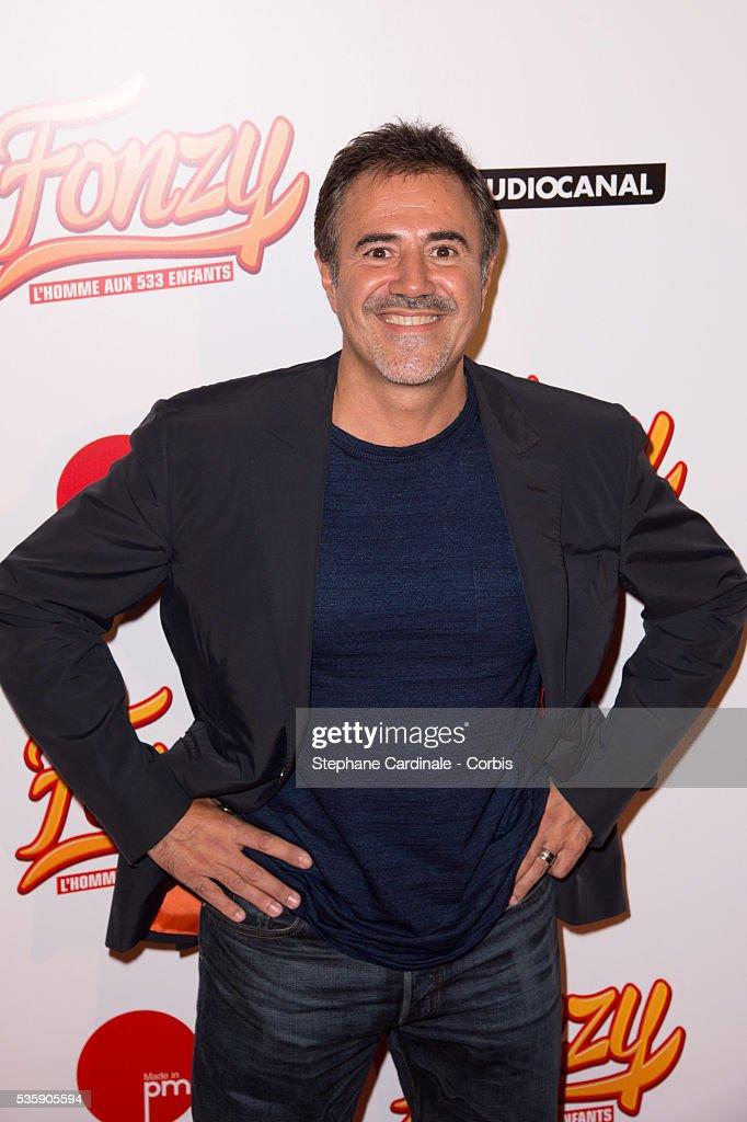 Jose Garcia attends the 'Fonzy' Paris Premiere at Cinema Gaumont Opera, in Paris.