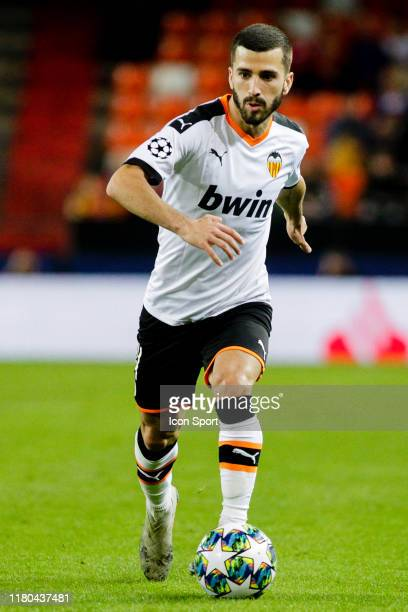 Jose Gaya of Valencia CF during the Champions League match between Valencia and Lille at Estadio Mestalla on November 5, 2019 in Valencia, Spain.