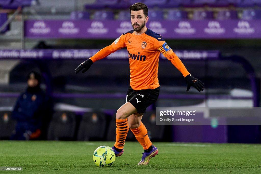 Real Valladolid CF v Valencia CF - La Liga Santander : News Photo