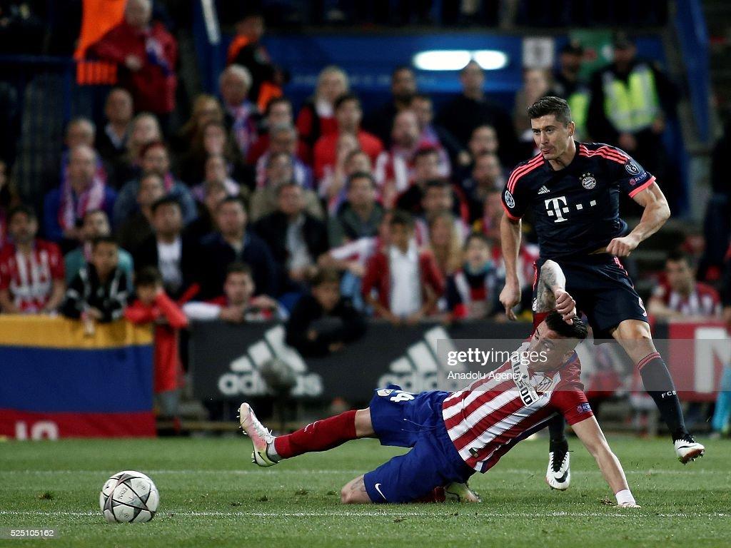 Atletico Madrid vs Bayern Munich: UEFA Champions League : News Photo