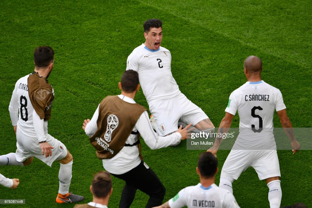 Egypt v Uruguay: Group A - 2018 FIFA World Cup Russia : News Photo