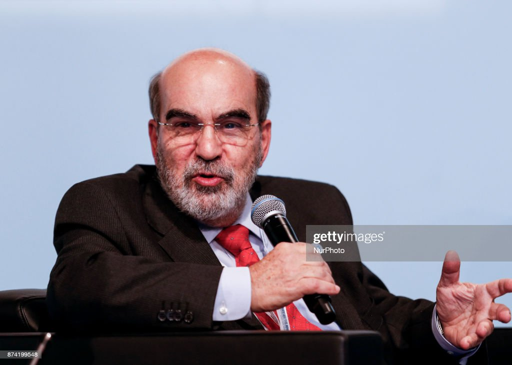 Jose Graziano da Silva, Director General of FAO at the Marrakesh Partnership panel at the COP23 Fiji conference in Bonn, Germany on the 14th of November 2017. COP23 is organized by UN Framework Convention for Climate Change.