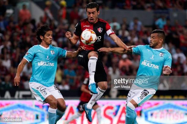 Jose Hernandez Goalkeeper of Atlas reacts during the 1st round match between Atlas and Queretaro at Jalisco Stadium on July 20 2018 in Guadalajara...