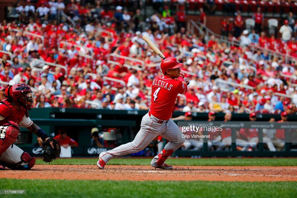 Cincinnati Reds v St Louis Cardinals - Game One : News Photo