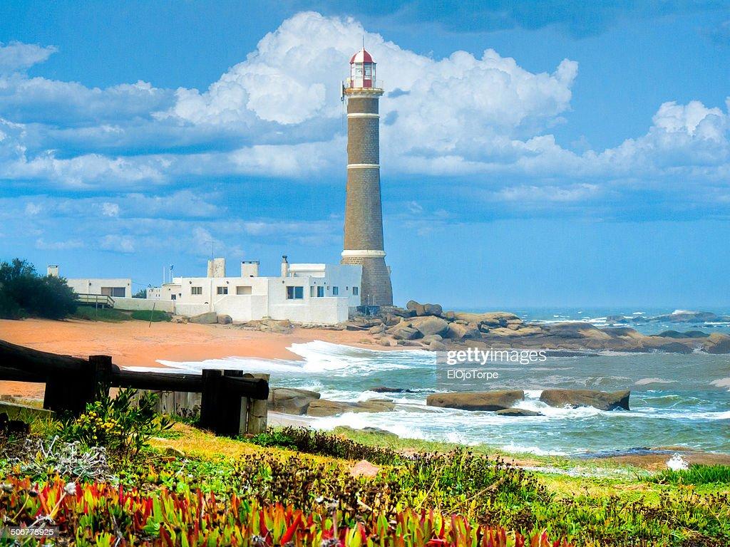 Jose Ignacio Lighthouse : Stock Photo
