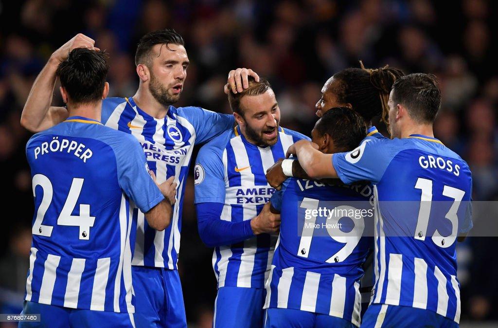 Brighton and Hove Albion v Stoke City - Premier League : News Photo