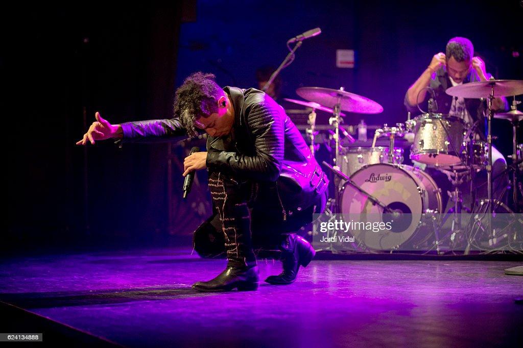 Jose James Performs in Concert in Barcelona