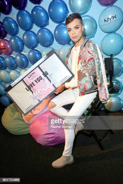 Jose Jimenez attends NYX Professional Makeup presents 'Love You So Mochi' at Elevate Lounge on January 13 2018 in Los Angeles California