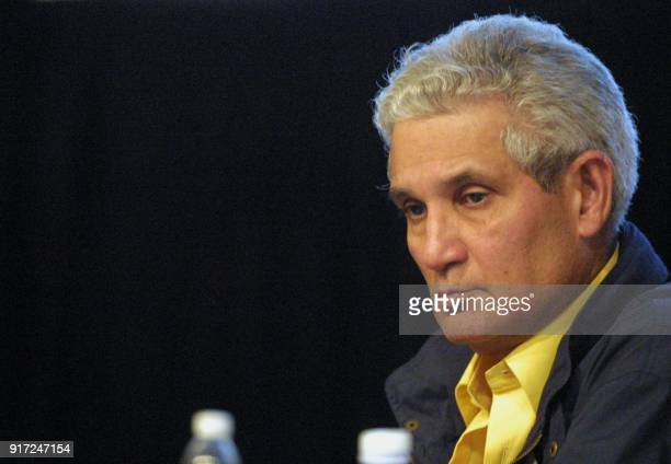 Jose Joaquin Puello president of the Organizing committee for the 2003 Panamerican Games of Dominican Republic participates in the Generral Assembly...