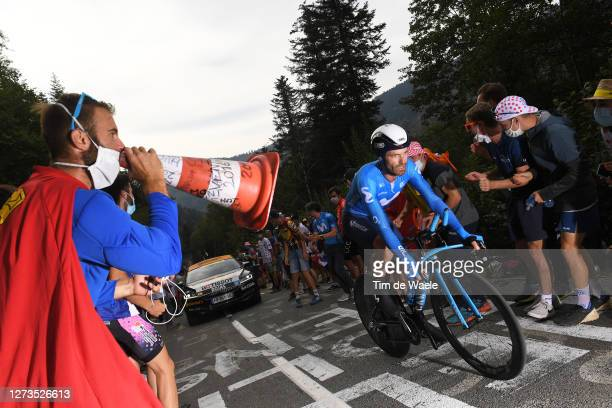 Jose Joaquin Rojas Gil of Spain and Movistar Team / during the 107th Tour de France 2020, Stage 20 a 36,2km Individual Time Trial stage from Lure to...