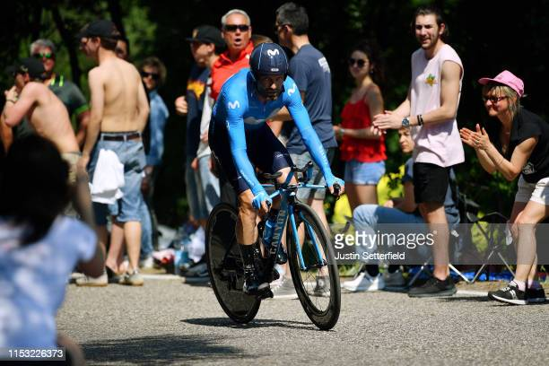 Jose Joaquin Rojas Gil of Spain and Movistar Team / Public / Fans / during the 102nd Giro d'Italia 2019, Stage 21 a 17km Individual Time Trial stage...