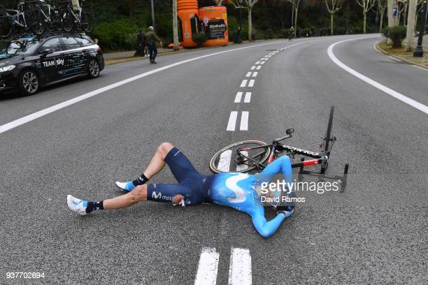 Jose Joaquin Rojas Gil of Spain and Team Movistar / Crash / during the 98th Volta Ciclista a Catalunya 2018, Stage 7 a 154,8km stage from Barcelona...