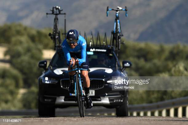 Jose Joaquin Rojas of Spain and Movistar Team / during the 65th Ruta del Sol 2019, Stage 3 a 16,3km Individual Time Trial stage from Mancha Real to...