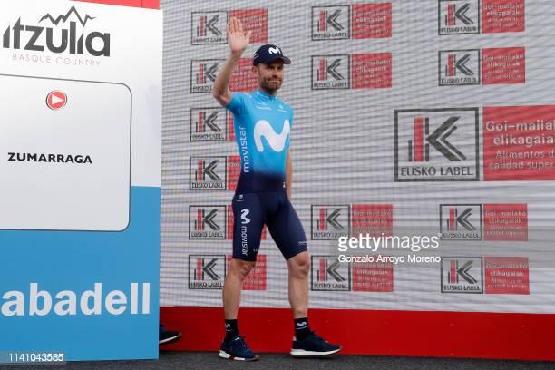 Jose Joaquin Rojas of Spain and Movistar Team / Team Presentation / Euskadi Square / Zumarraga City / during the 59th Itzulia-Vuelta Ciclista País...