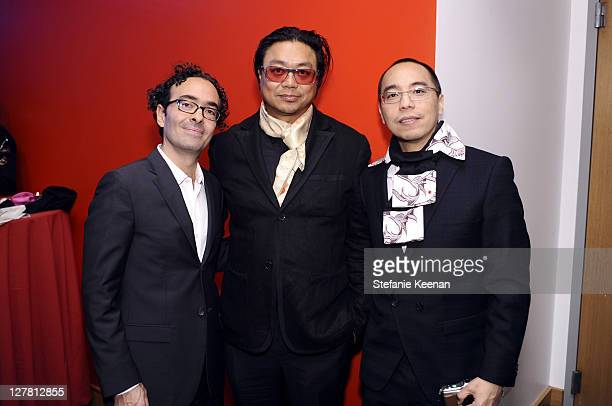 Jose Kuri Rirkrit Tiravanija and Apichatpong Weerasethakul attend 2011 REDCAT Gala Honoring Eli Edythe Broad and Apichatpong Weerasethakul at REDCAT...
