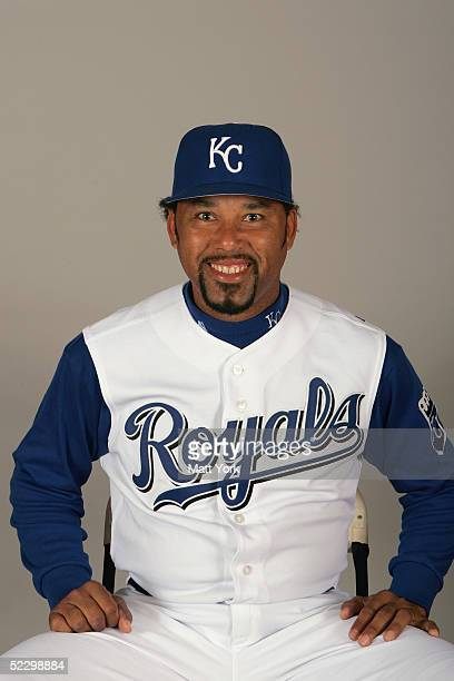 Jose Lima of the Kansas City Royals poses for a portrait during photo day at Surprise Stadium on February 26 2005 in Surprise Arizona