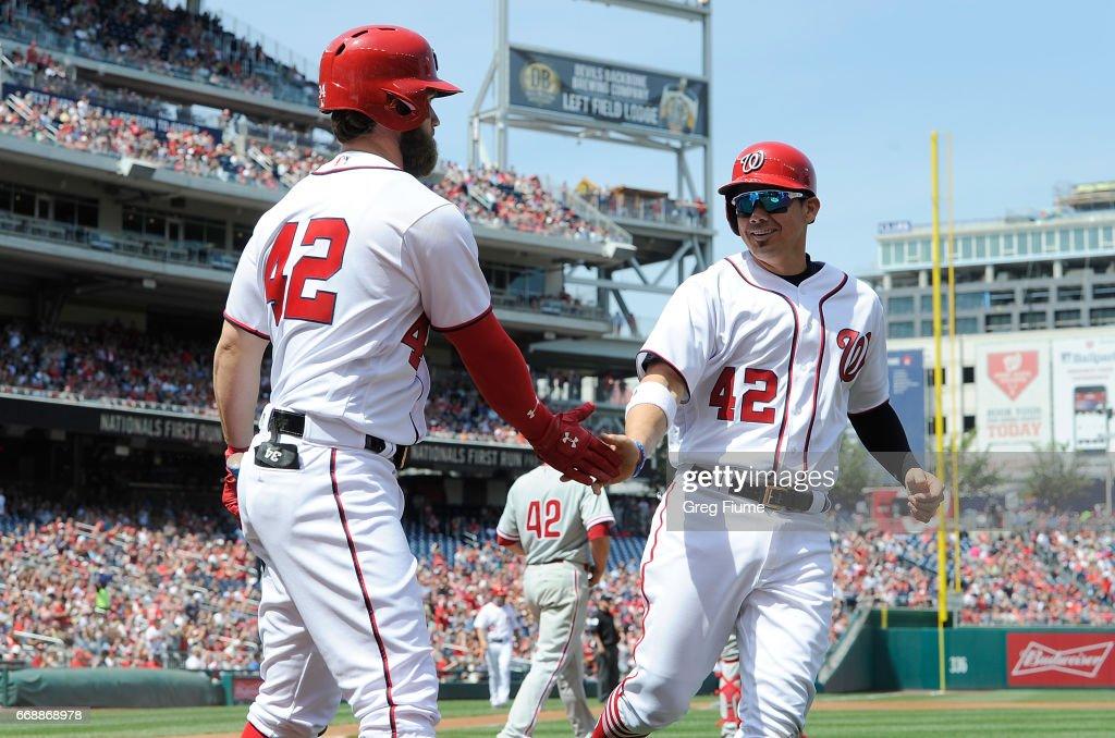 Philadelphia Phillies v Washington Nationals