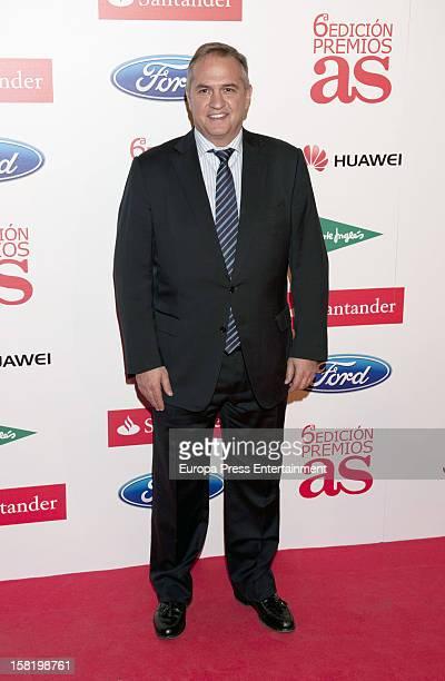 Jose Luis Astiazaran attends As Del Deporte' Awards 2012 on December 10 2012 in Madrid Spain