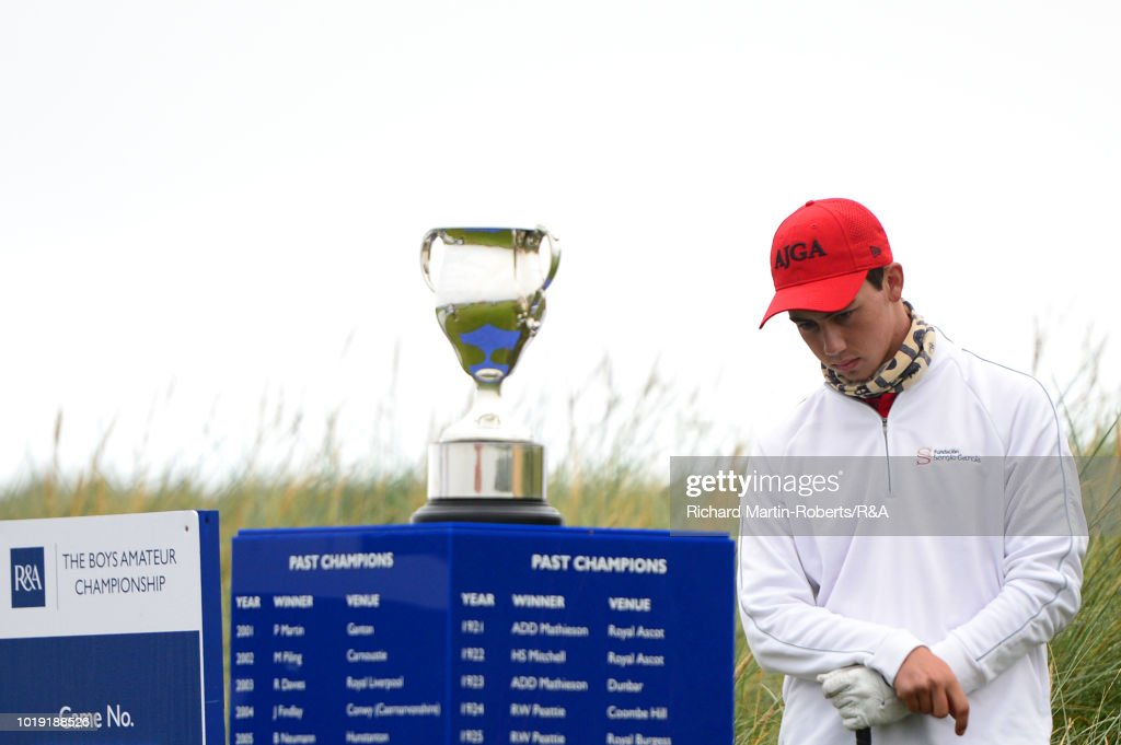 The Boys Amateur Championship - Day Six