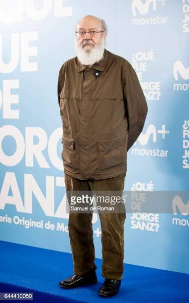 Jose Luis Cuerda during 'Que fue de Jorge Sanz' Madrid Premiere on February 23 2017 in Madrid Spain