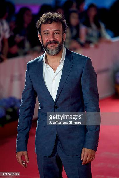 Jose Luis Garcia attends the 'Requisitos Para Ser Una Persona Normal' premiere during the 18th Malaga Spanish Film Festival at Cervantes Theater on...