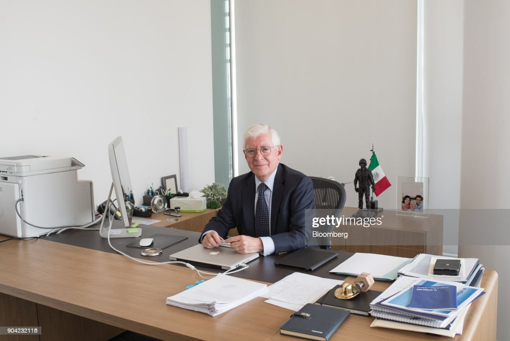Jose Luis Garza, chief executive officer of ABC Aerolineas SA de CV (Interjet), sits for a photograph at the company's office in Mexico City, Mexico, on Friday, Jan. 5, 2018. Interjet made a splash as Mexico's first airline for the budget-conscious flyer when it was founded in 2005. But in the years that followed, the carrier hit turbulent skies, causing the company's overall market share to stagnate while Competitor Volaris captured more passengers. Photographer: Lujan Agusti/Bloomberg via Getty Images