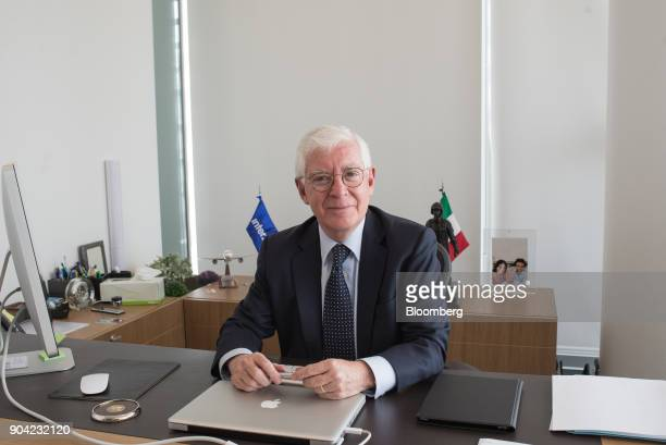 Jose Luis Garza chief executive officer of ABC Aerolineas SA de CV sits for a photograph at the company's office in Mexico City Mexico on Friday Jan...