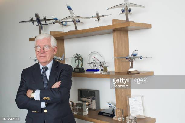 Jose Luis Garza chief executive officer of ABC Aerolineas SA de CV stands for a photograph at the company's office in Mexico City Mexico on Friday...