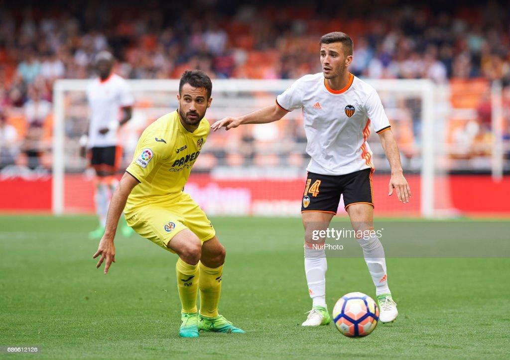 Valencia CF v Villarreal CF - La Liga : ニュース写真