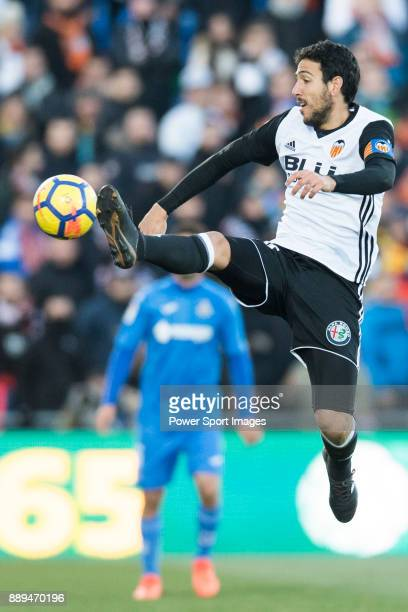 Jose Luis Gaya Pena of Valencia CF in action during the La Liga 201718 match between Getafe CF and Valencia CF at Coliseum Alfonso Perez on 03...