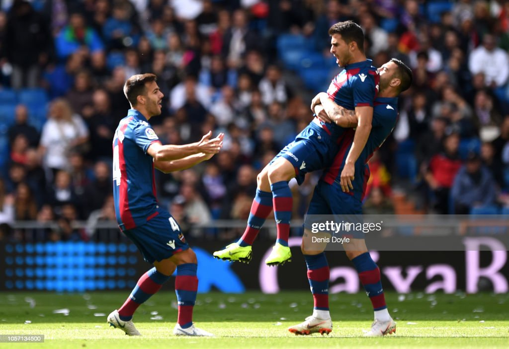 ESP: Real Madrid CF v Levante UD - La Liga