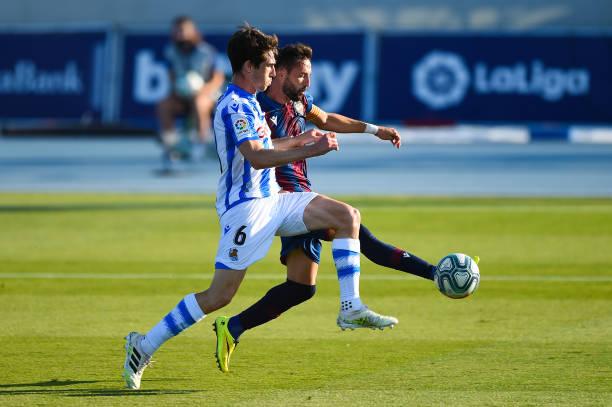 ESP: Levante UD v Real Sociedad  - La Liga