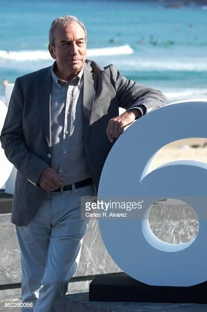 JOse Luis Perales attends 'El Autor' photocall during 65th San Sebastian Film Festival on September 23 2017 in San Sebastian Spain