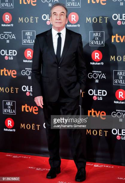 Jose Luis Perales attends Goya Cinema Awards 2018 at Madrid Marriott Auditorium on February 3 2018 in Madrid Spain