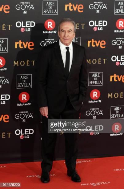 Jose Luis Perales attends Goya Cinema Awards 2018 at Madrid Marriott Auditorium on February 3 2018 in Madrid Spain