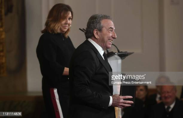 Jose Luis Perales attends the Gold Medals of Merit in Fine Arts 2019 ceremony at Cordoba on February 18 2019 in Cordoba Spain
